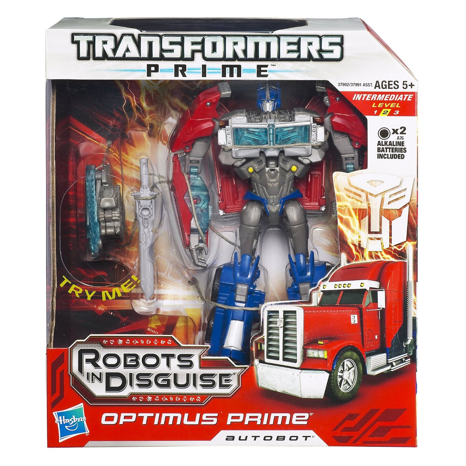 Transformers Prime Robots In Disguise - Autobot Optimus Prime Figure NEW