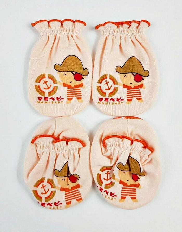 เซตถุงมือ+ ถุงเท้าคอตตอน 100 % (สินค้าแบรนด์)