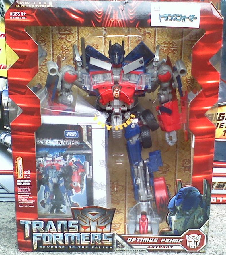 Transformers ทรานฟอร์เมอร์ Leader Class Optimus Prime Revenge of the Fallen TAKARA NEW