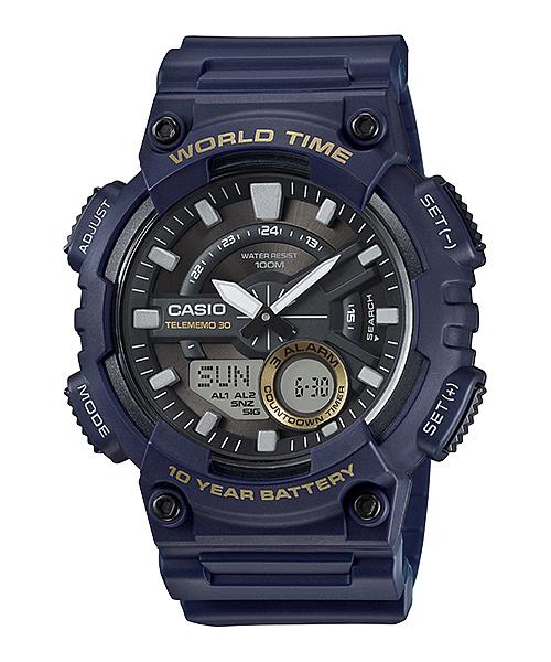 นาฬิกา Casio 10 YEAR BATTERY รุ่น AEQ-110W-2AV ของแท้ รับประกัน 1 ปี