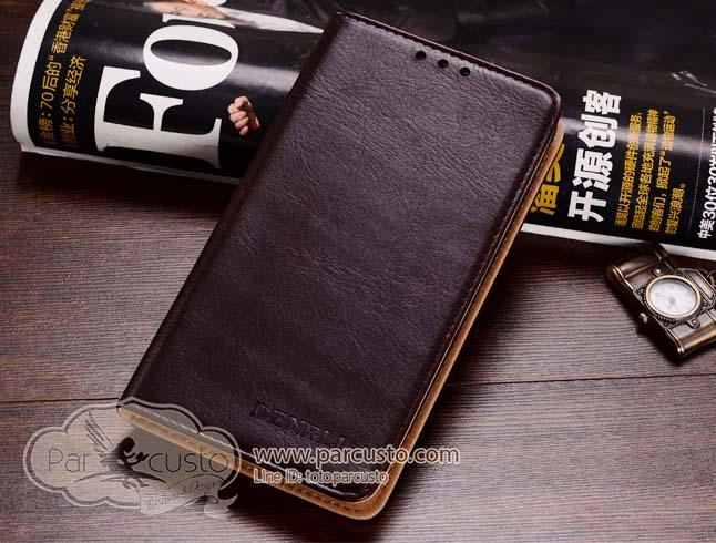 เคสหนังแท้ Samsung Galaxy Note 5 จาก DENRLI [Pre-order]
