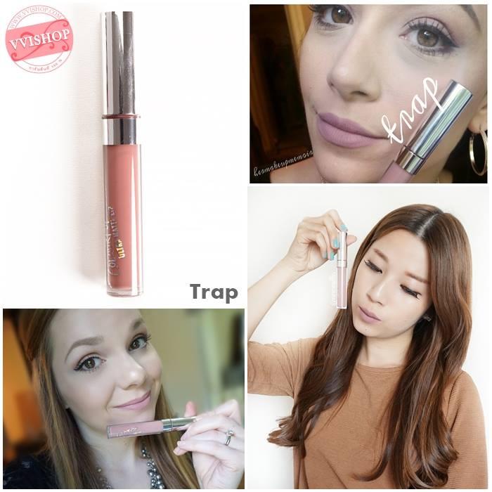 Colourpop Ultra Matte Lip #Trap : dusty greyed out beige ชมพูเจือเทาอมนู้ด สีเก๋มาก