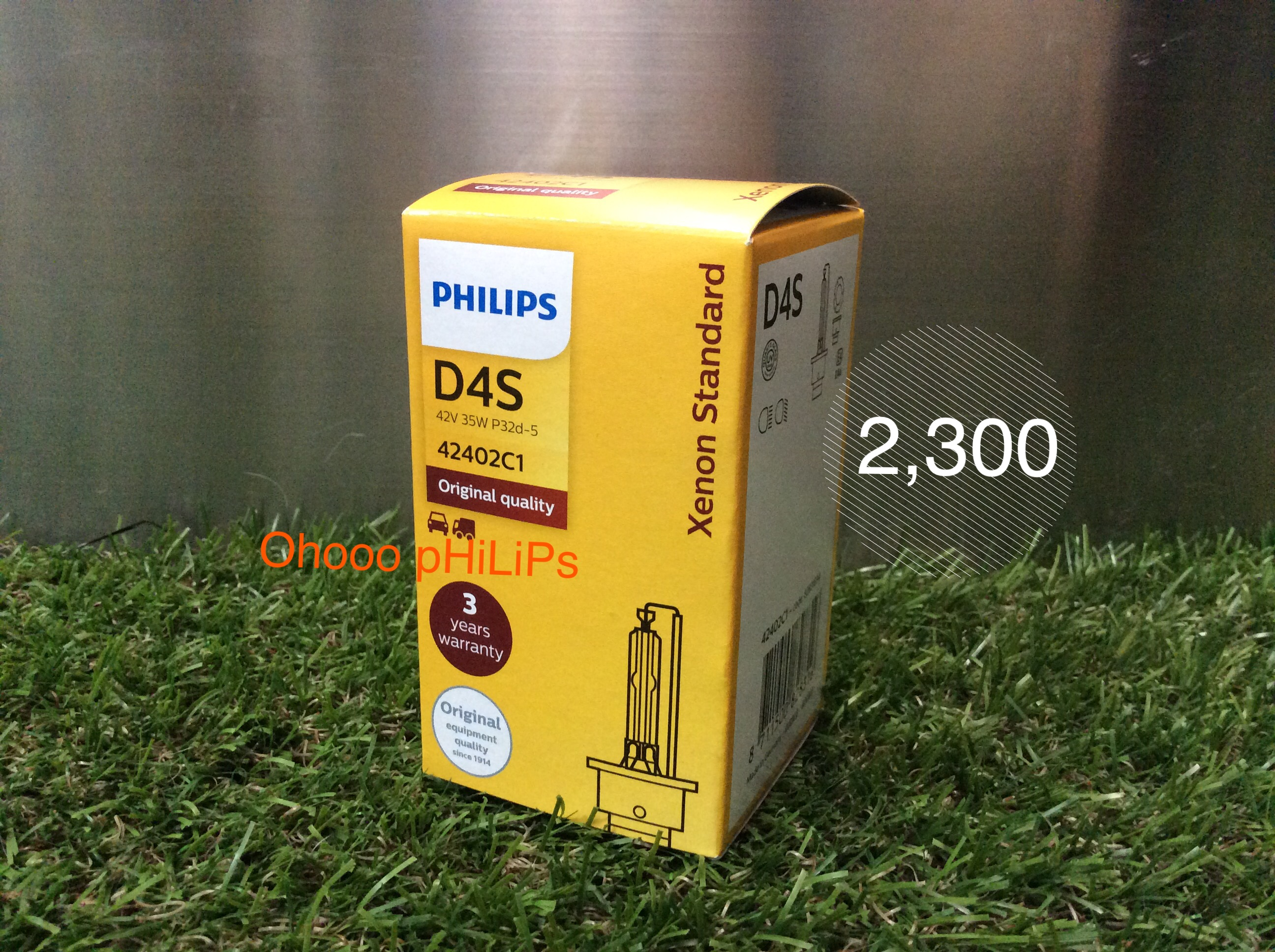 Philips Xenon D4S 4200K