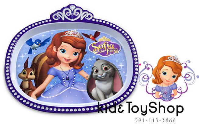 จานทานอาหาร Sofia the first [Disney USA]