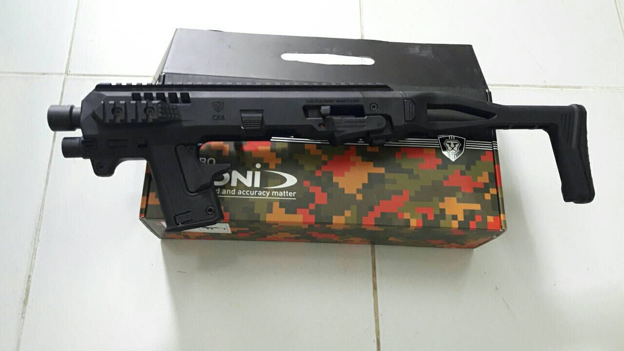 https://youtu.be/r0Enf9zdIzw https://youtu.be/BvAckAreyss New.ไมโครโรนิของเเท้ ชุด advance kit สำหรับ ปืนสั้น GLOCK 19 , 23 , 25 , 32 ราคาพิเศษ