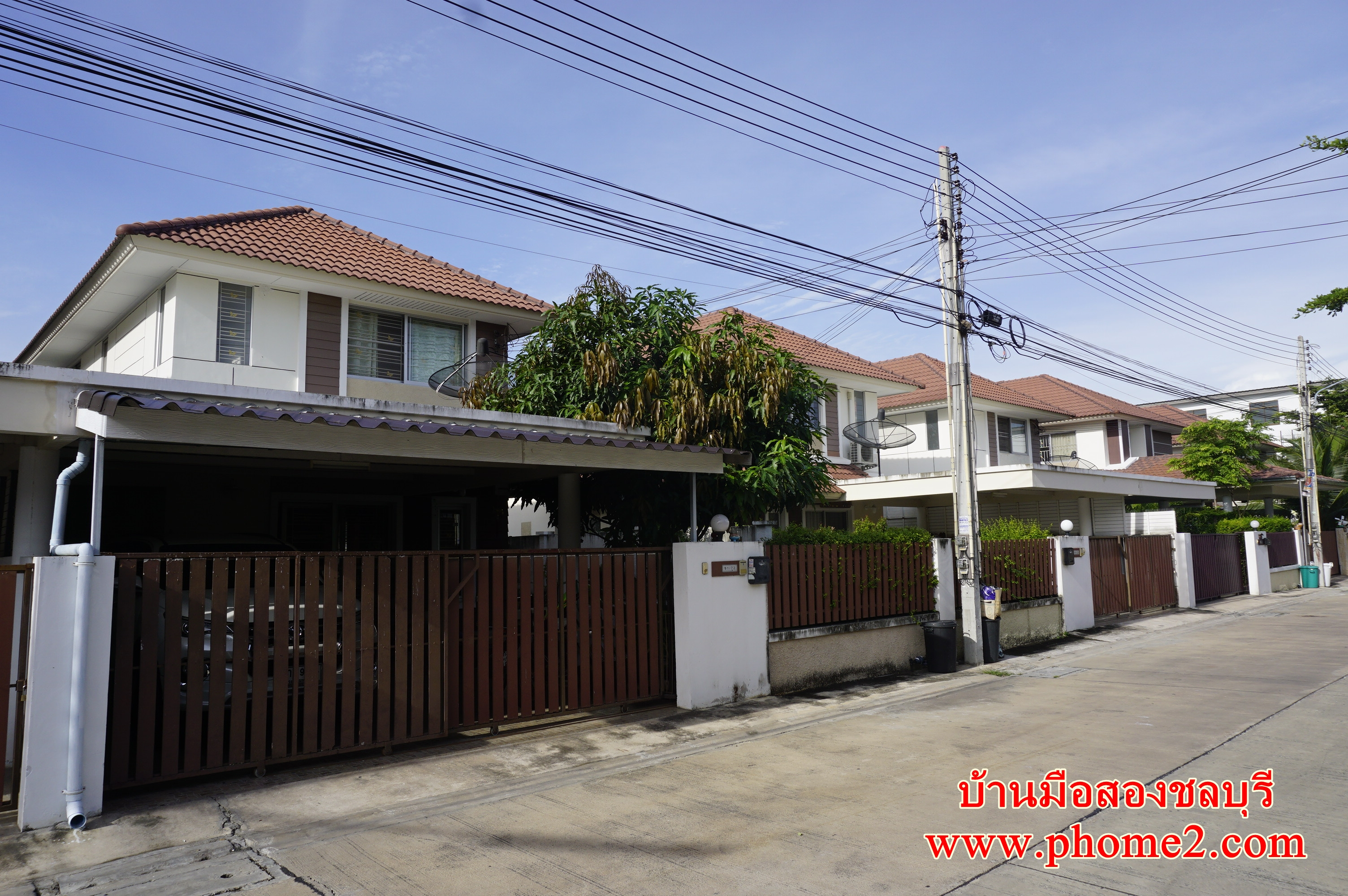 บ้านแฝด 2 ชั้น มบ.แฟมิลี่ ซิตี้ ต.นาป่า อ.เมืองชลบุรี