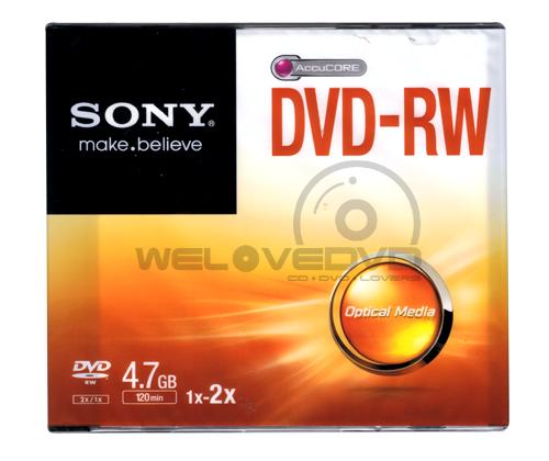 Sony DVD-RW 4X (1 pcs/Jewel Case)
