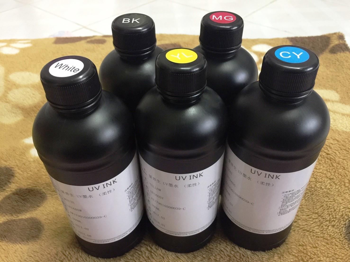 หมึกพิมพ์ UV(สำหรับปริ๊นเตอร์ UV) 500ml.