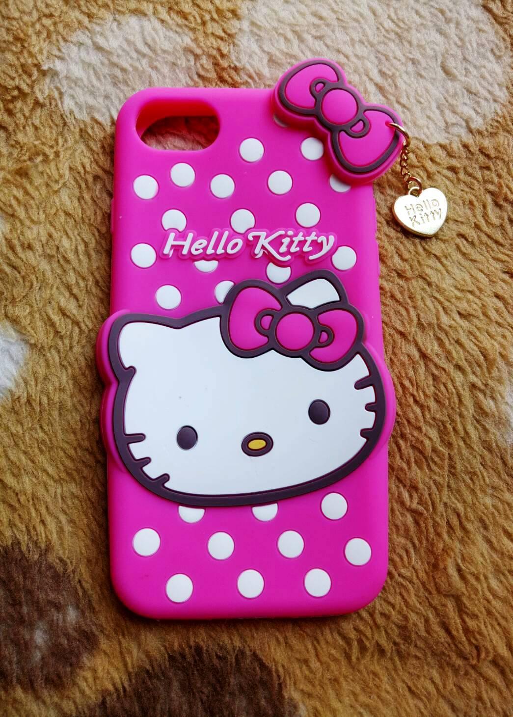 ซิลิโคนแมวชมพู iphone7/iphone8(ใช้เคสตัวเดียวกัน)