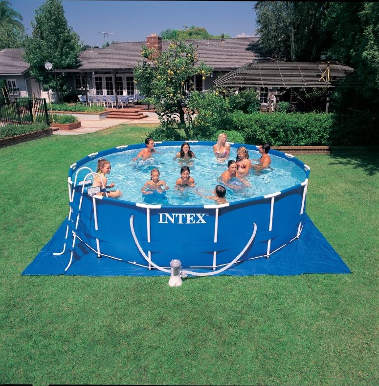 สระว่ายน้ำสำเร็จรูป Size 15 ฟุต ลึก 122 ซม.