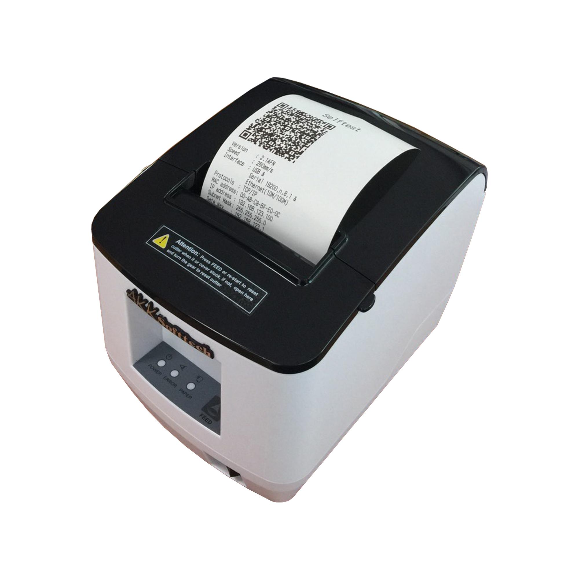 เครื่องพิมพ์ใบเสร็จหัวความร้อนขนาด 80 มม. (IN-80W)