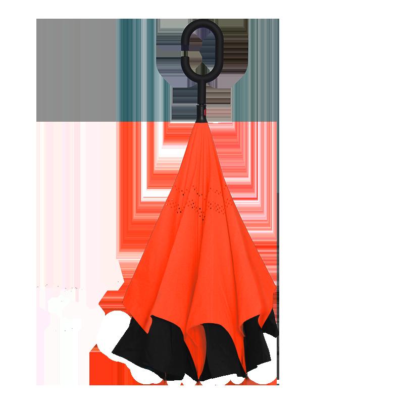 ORANGE REVERSE ร่มกลับด้านสีส้ม