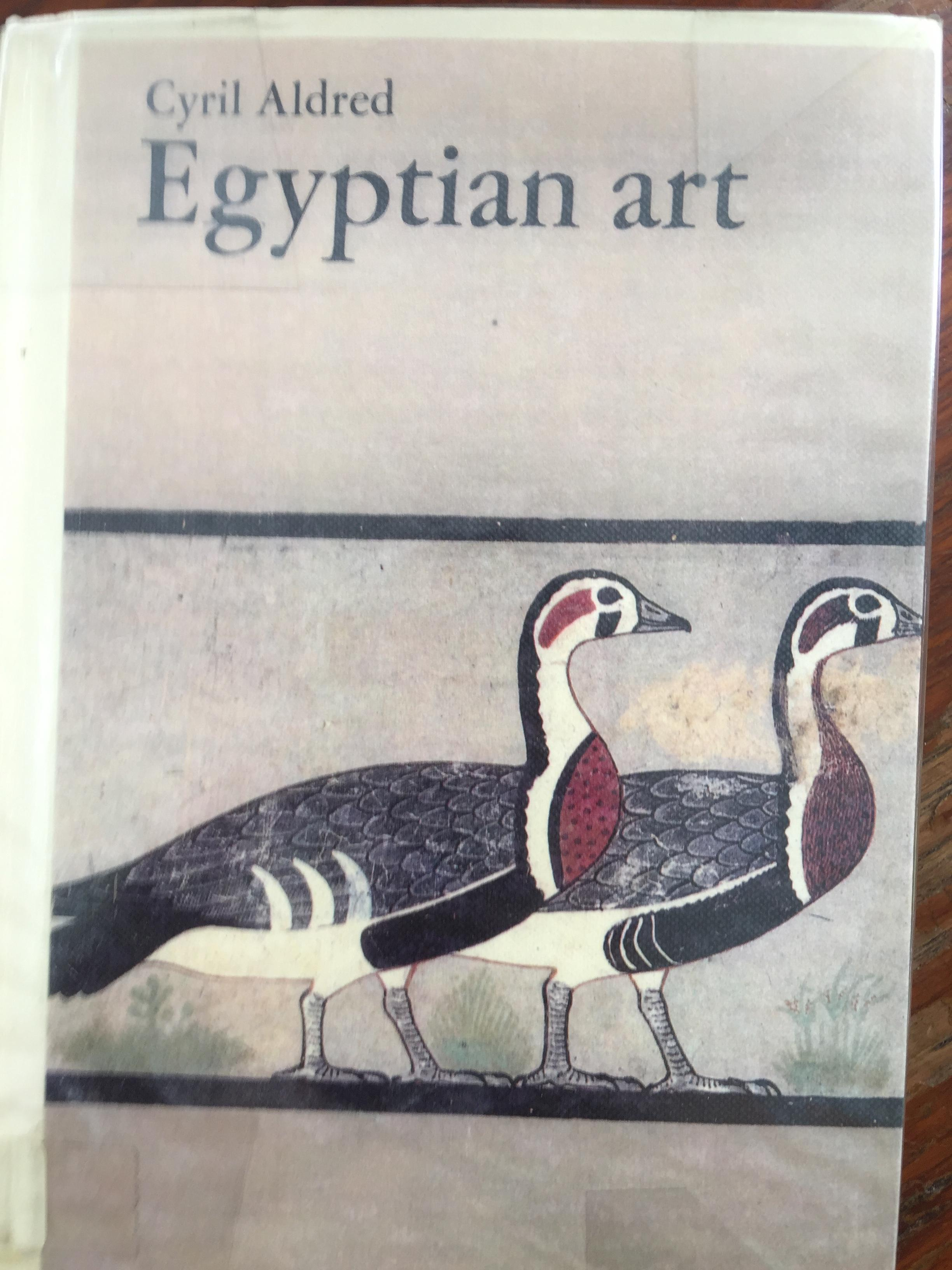 EGYPTIAN ART. ผู้เขียน Cyril Aldred.