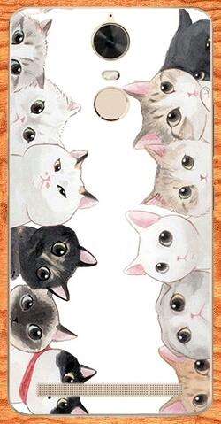 เคส lenovo k5 note เคสกลุ่มแมวน่ารักๆ
