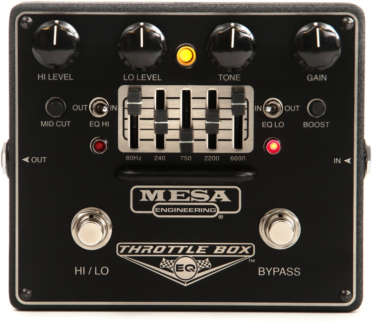 MESA PEDAL THROTTLE BOX EQ
