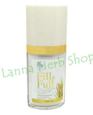 ครีมบำรุงผิวสูตรโปรตีน น้ำนมข้าวผสมคอลลาเจน เพื่อผิวอ่อนเยาว์ (Fill & Full Anti-Aging Rice Peptide-Collagen Topical Wrinkle Filter Rejuvenation)