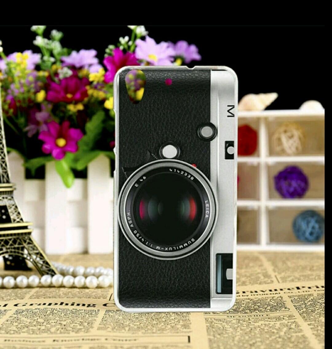 เคส huawei y6ii พลาสติกแข็งลายกล้องถ่ายรูป
