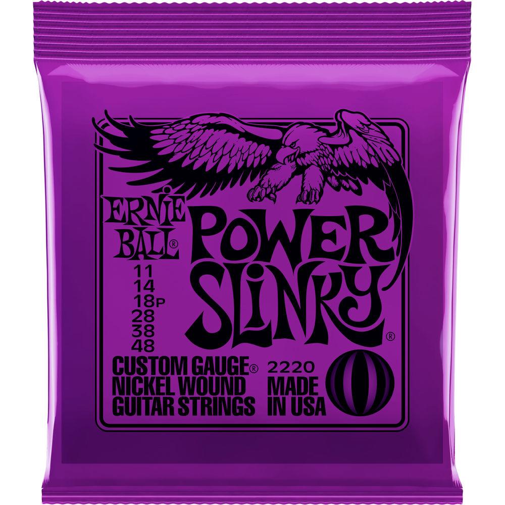 สายกีต้าร์ไฟฟ้า ERNIE BALL POWER SLINKY 011-048