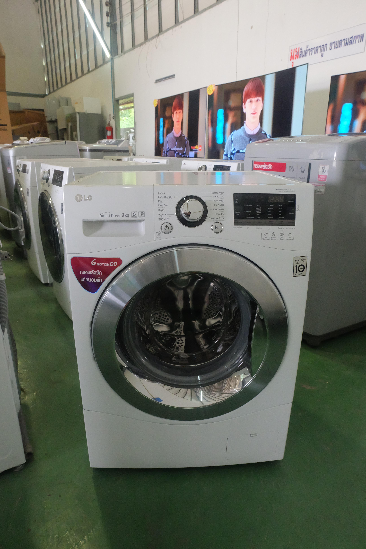 เครื่องซักผ้าฝาหน้าระบบ Turbo Wash ความจุ ซัก 9 กก. รุ่นF1409NPRW