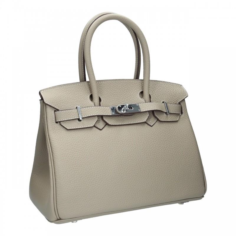 กระเป๋าถือ กระเป๋าออกงาน งานหนังแท้ เสริมลุคให้ดูหรู ดูแพง BIRKIN 30 [สีน้ำตาล ]