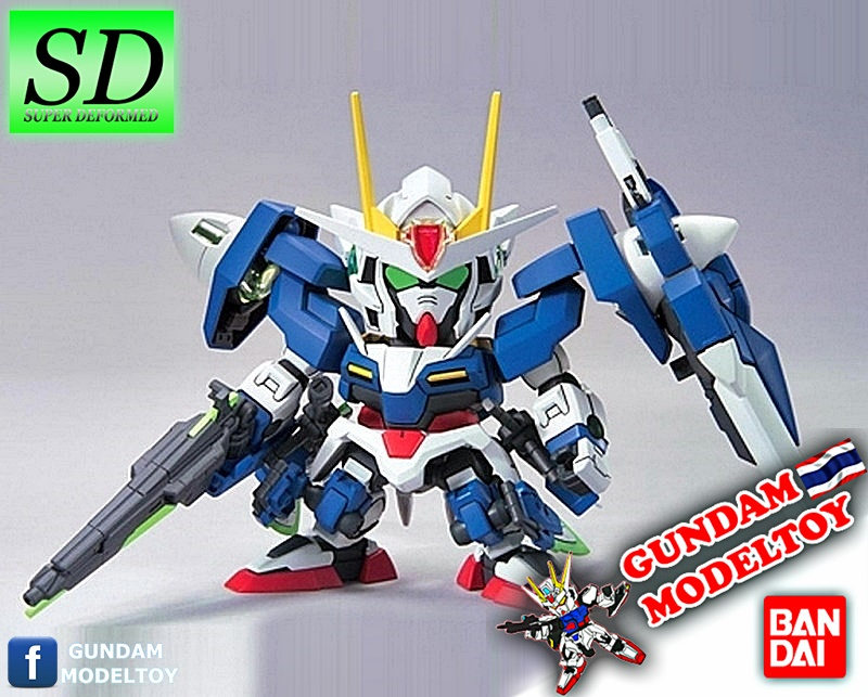 SD BB 368 00 GUNDAM SEVEN SWORD-G โอโอ กันดั้ม เซเว่น สวอร์ด/จี