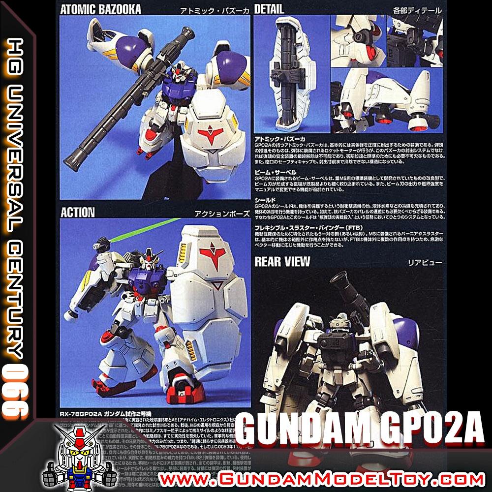 HGUC 1/144 GUNDAM GP02A กันดั้ม จีพี02A