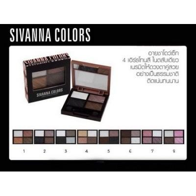 Eyeshadow Sivanna (เบอร์6)