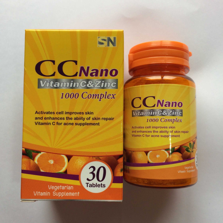 CC Nano Vitamin C Zinc 1000 Complex 30 เม็ด