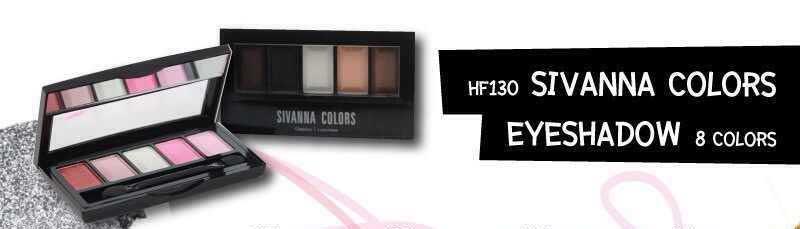 อายแชโดว์ ซีเวียน่า 5ช่อง Sivanna color eye shadow (เบอร์4)