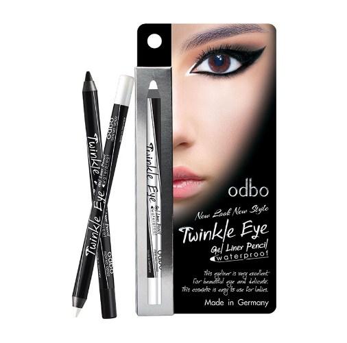 odbo Twinkle Eye Gel liner Pencil No.01 Black อายไลเนอร์
