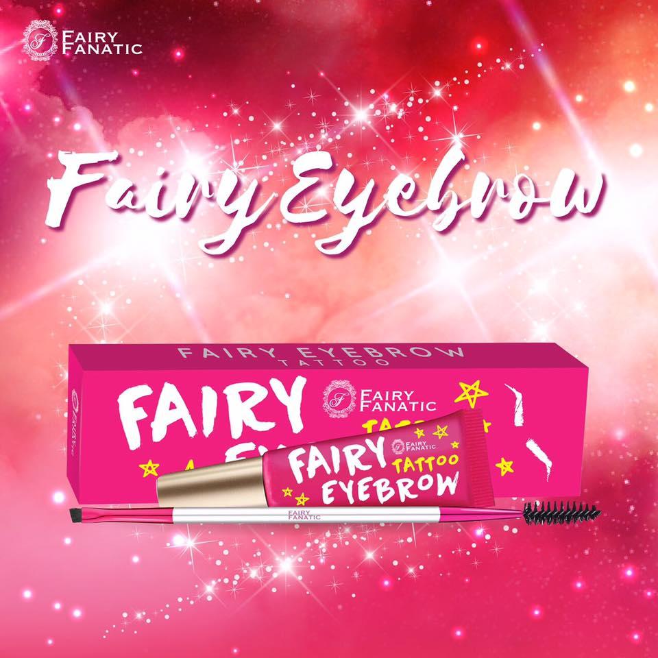 เจลเขียนคิ้วแฟรี่ Light brown By Fairy Fanatic No.01