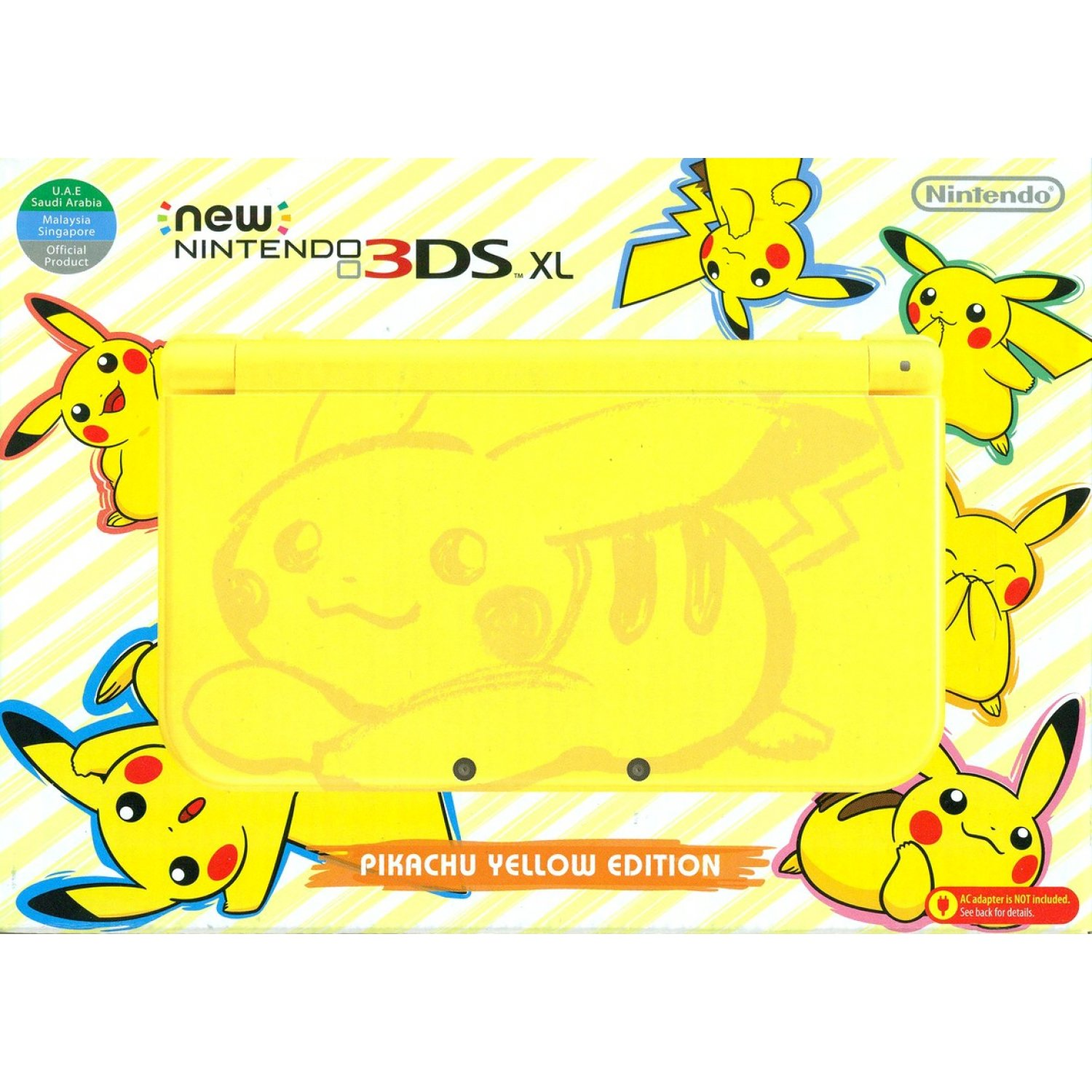 NEW 3DS XL [PIKACHU EDITION] (YELLOW) : USA