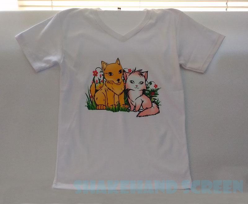 สกรีนเสื้อ ลายหมา แมว