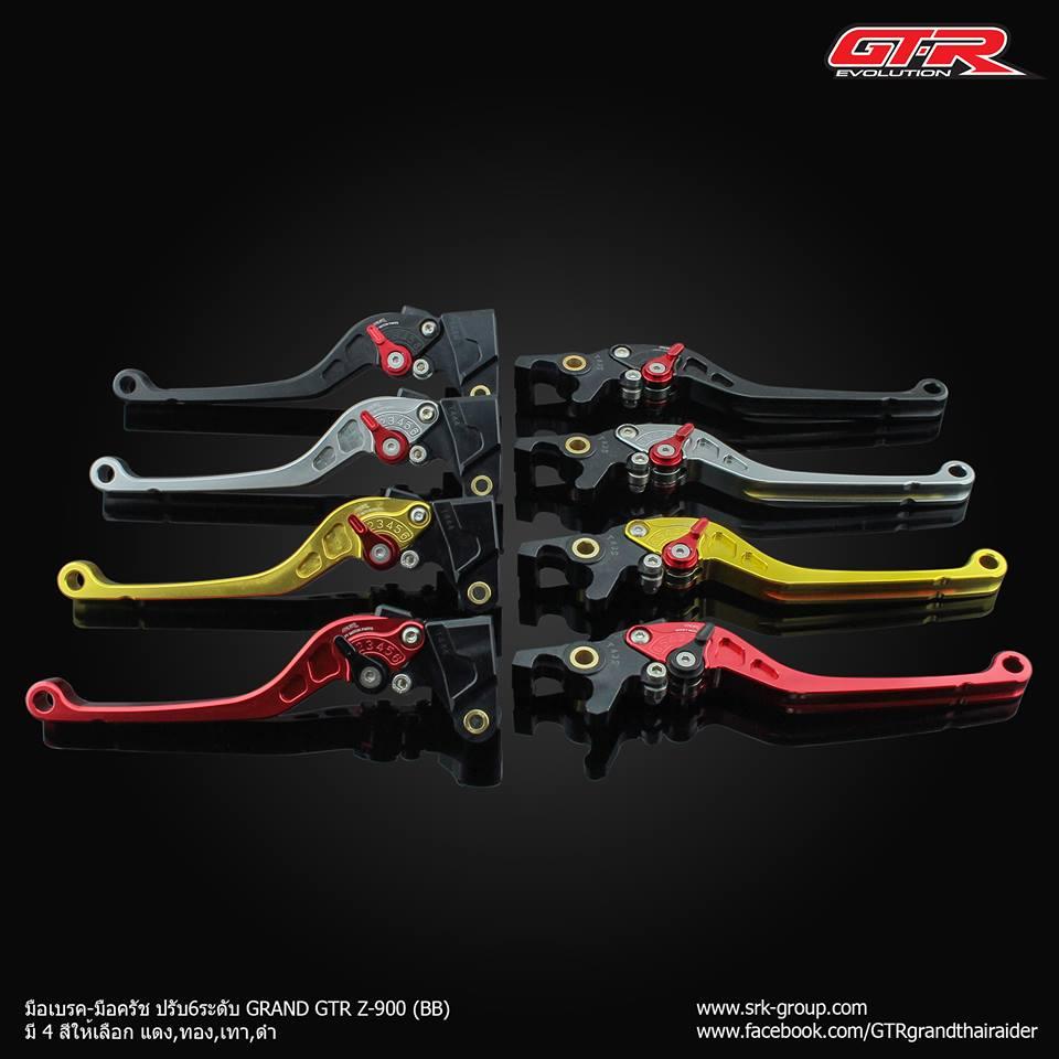 มือเบรค-ครัช ปรับได้6ระดับ GTR PREMIUM ใส่รถ CB150R MSX CBR250-500