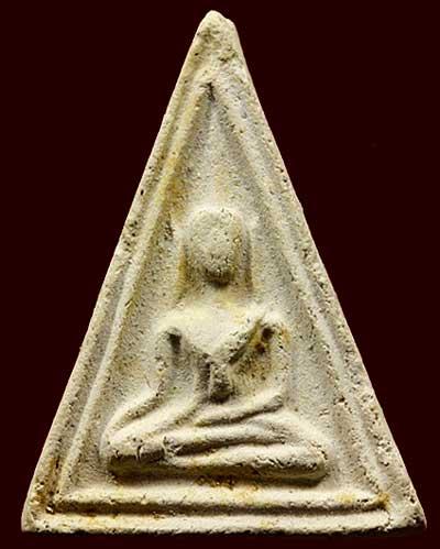นางพญาซุ้มเส้นคู่ หลังยันต์อุ..ลพ.น้อย วัดธรรมศาลา นครปฐม ปี๒๕๑๑