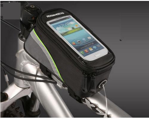 กระเป๋าบนเฟรมจักรยานใส่มือถือ