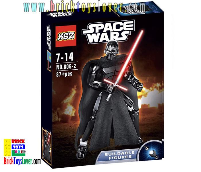 606-2 โมเดลฟิกเกอร์ Star Wars7 Kylo Ren ผู้บังคับการกองทัพปฐมภาคี