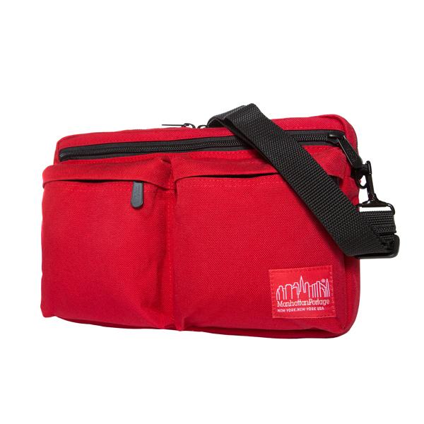 Manhattan Portage Albany Shoulder Bag - Red