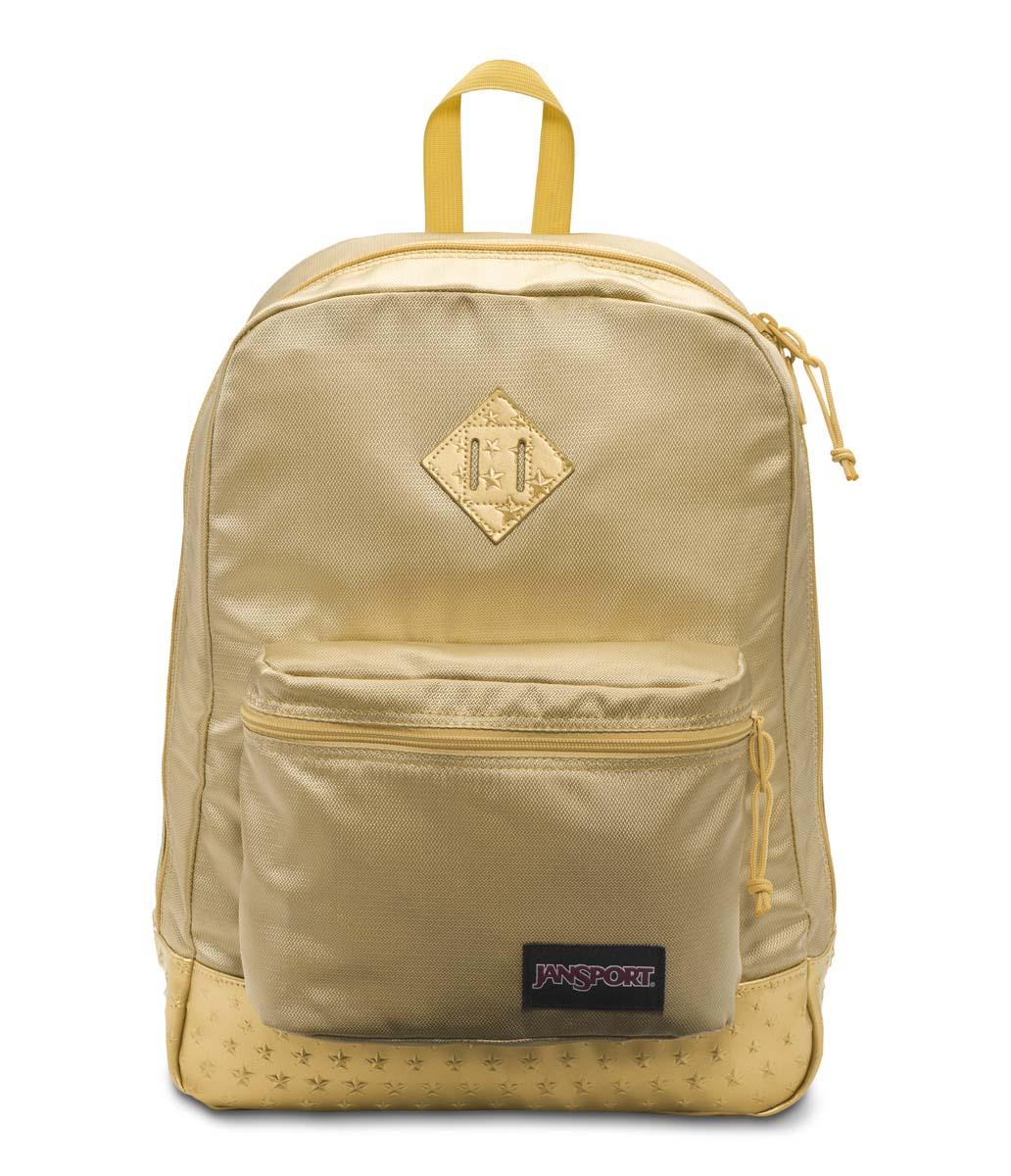JanSport กระเป๋าเป้ รุ่น Super FX - Gold 3D Stars