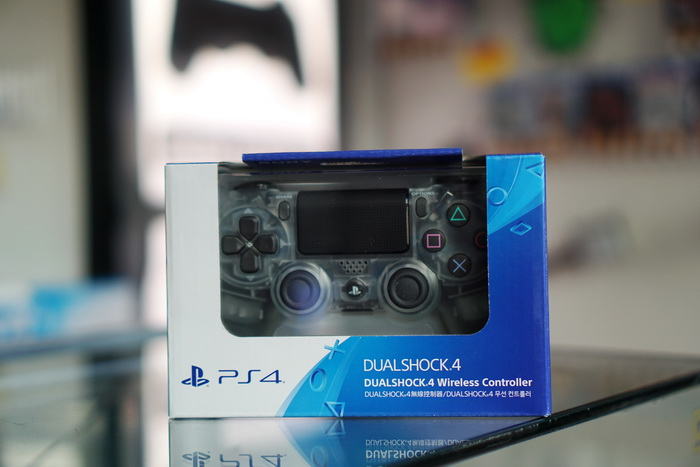 PS4 : Dual Shock 4 New ( Crystal )