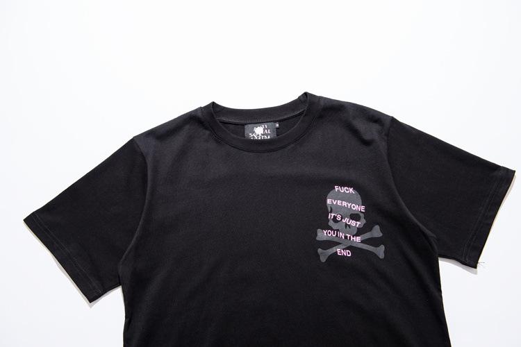 เสื้อ Anti Social Social Club x Skull T-Shirt