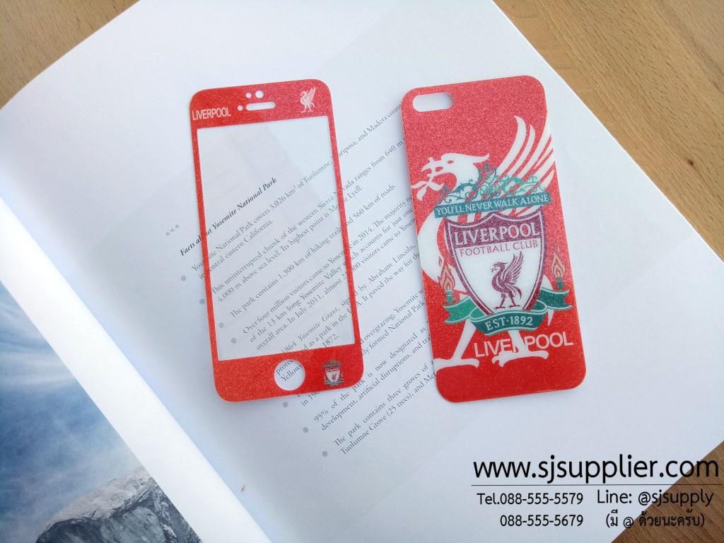 ฟิล์มกระจก iPhone5/5s/SE ทีมฟุตบอล ลิเวอร์พูล