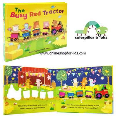 หนังสือนิทาน The Busy Red Tractor
