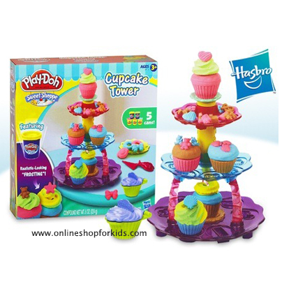 แป้งโดว์ Play-doh cupcake tower playset