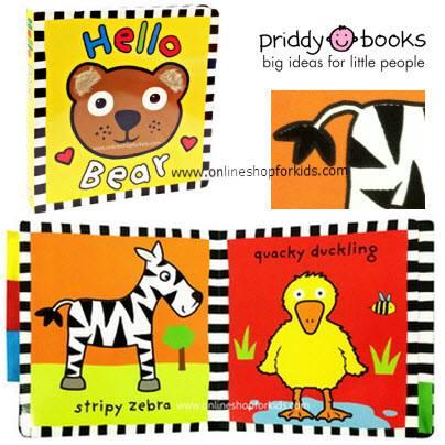 หนังสือสัมผัส Hello Bear Touch and Feel Board Books