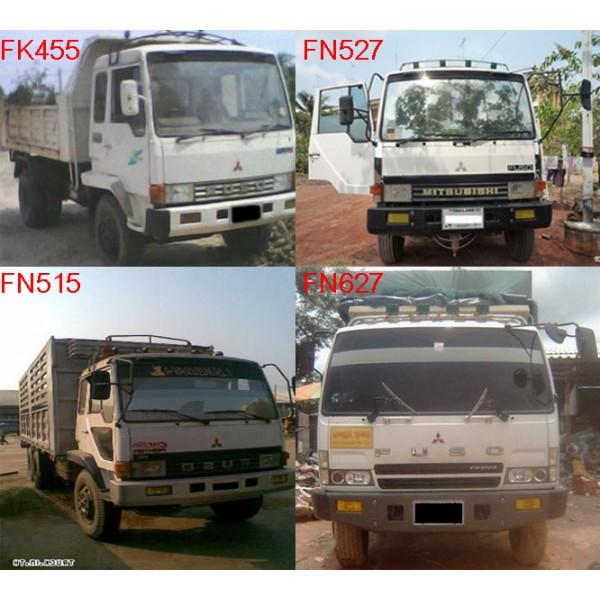 คู่มือซ่อมรถบบรทุก ข้อมูลทั่วไป เครื่องยนต์ คลัตช์ เกียร์ MITSUBISHI FUSO รุ่น FK, FN รหัสสินค้า MF-003