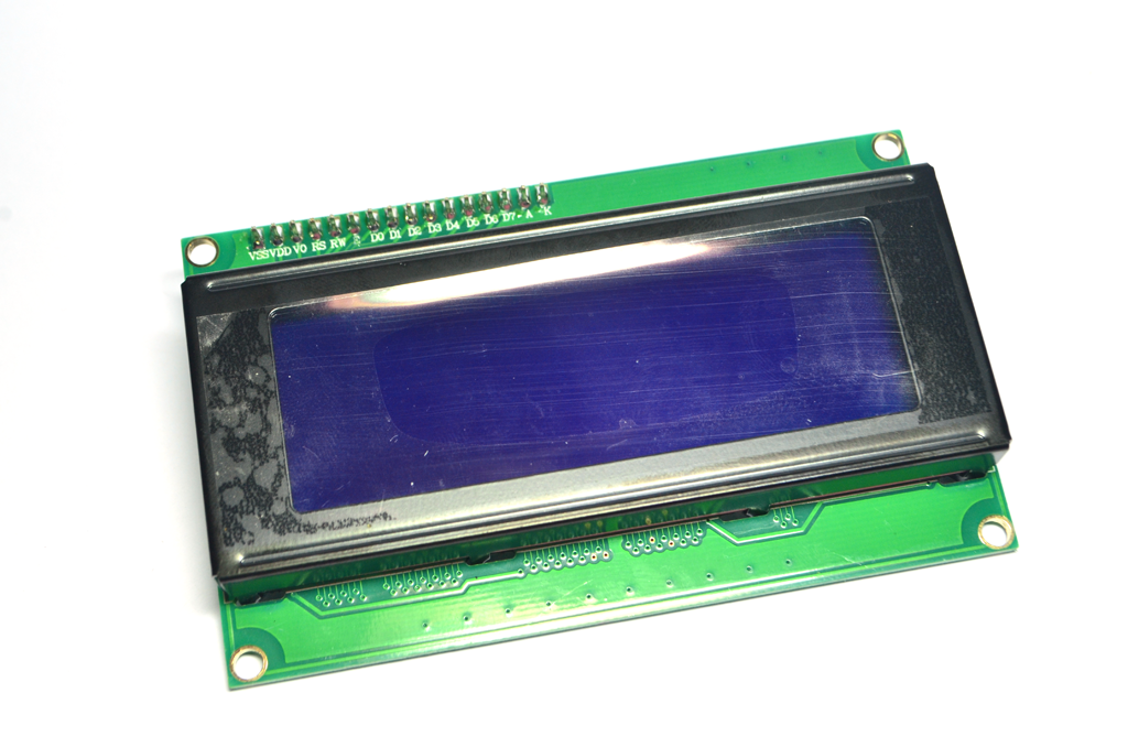I2C/IIC 2004 LCD (Blue Screen) with backlight of the LCD screen