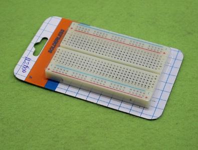 โพรโทบอร์ด protoboard ชุดทดลองอีเล็กทรอนิกส์ ขนาด 8.5 *5.5 cm
