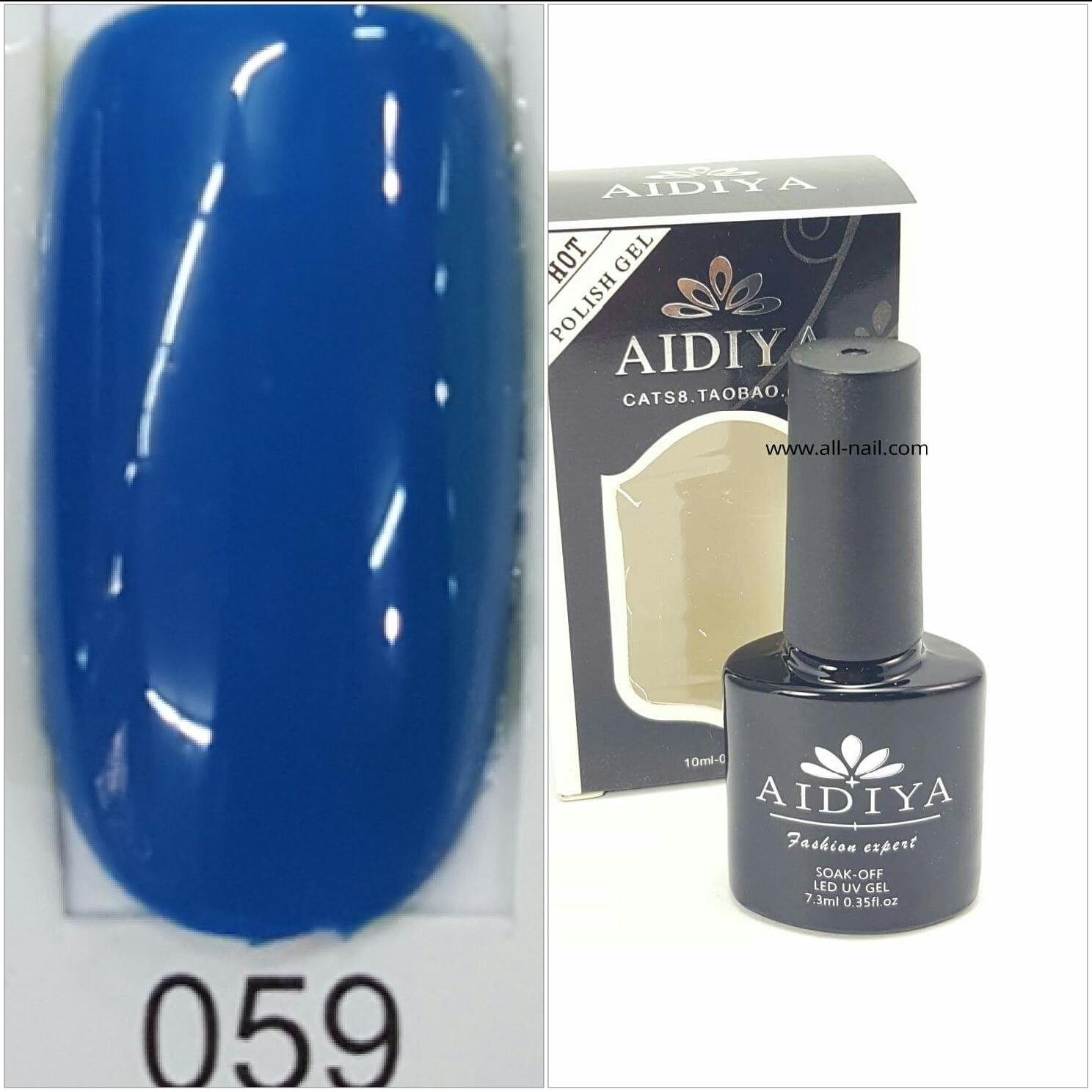 สีเจลทาเล็บ AIDIYA #059