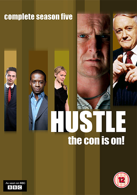 Hustle Season 5 / แก็งค์ตุ๋นระเบิด เชิดเงินสนั่นเมือง ปี 5 / 2 แผ่น DVD (พากษ์ไทย+บรรยายไทย)